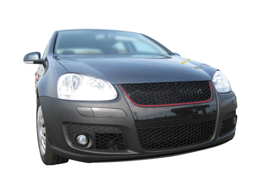 Черна решетка GTI без емблема за VW Golf V GTI 2003-2009 12