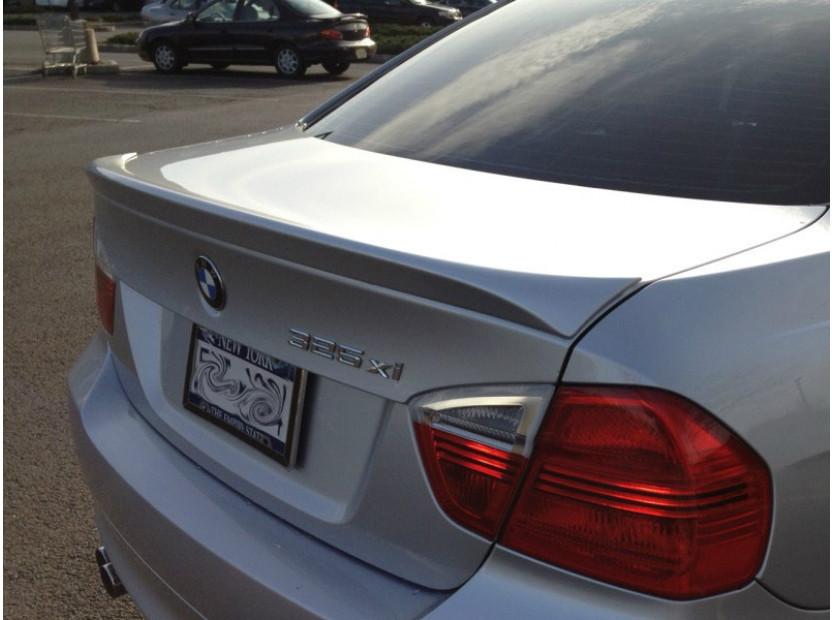 Спойлер за багажник тип М tech за BMW серия 3 Е90 2005-2011 4