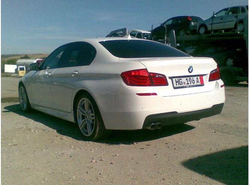 Спойлер за багажник тип М tech за BMW серия 5 F10 2010-2017 6