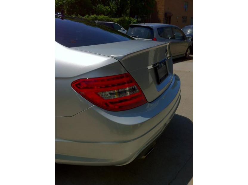 Спойлер за багажник тип AMG за Mercedes C класа W204 2007-2011 12