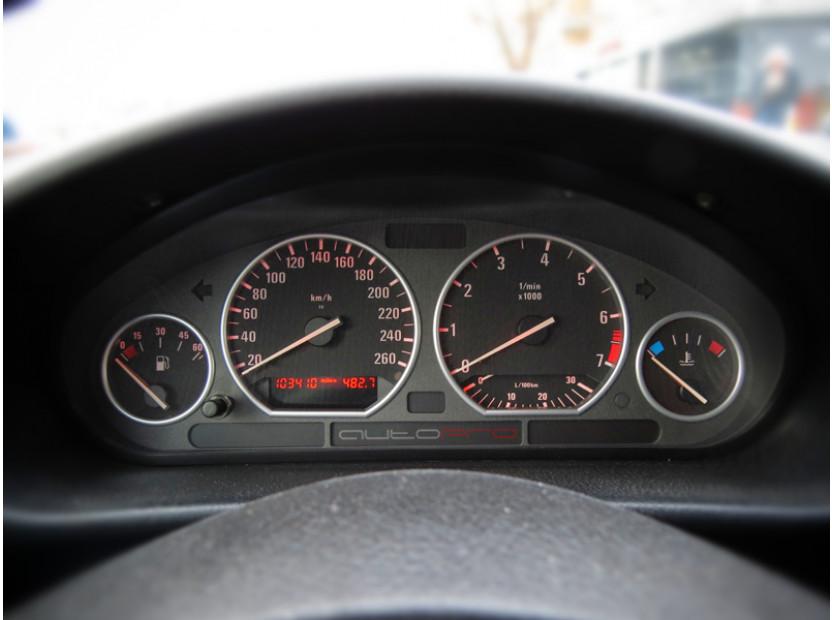 Рингове за табло autopro за BMW серия 3 E36 всички версии 1990-1999, цвят сиви 11