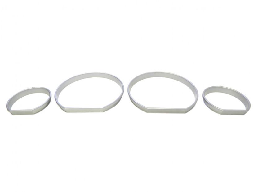 Рингове за табло autopro за BMW серия 3 E46 всички версии 1998-2005 , цвят сиви 4