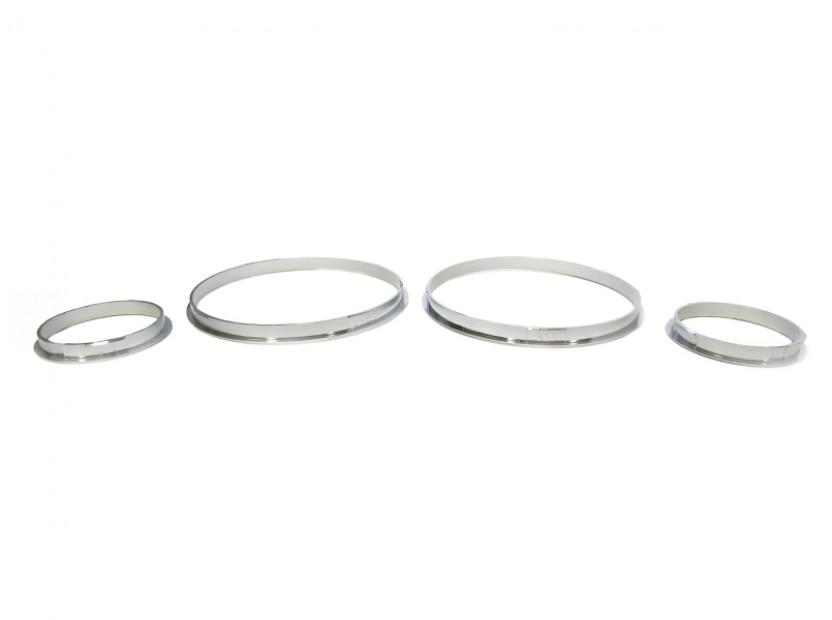 Рингове за табло autopro за BMW серия 5 E39 1995-2004/серия 7 E38 1994-2001/серия Х5 E53 2000-2007, цвят сиви 8