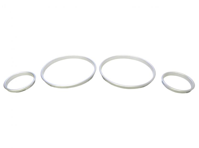 Рингове за табло autopro за BMW серия 5 E39 1995-2004/серия 7 E38 1994-2001/серия Х5 E53 2000-2007, цвят сиви 4