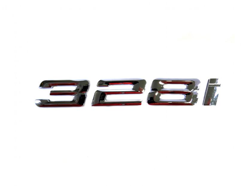 Емблема 328i Хром