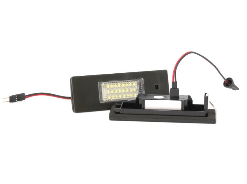 Комплект LED плафони за регистрационен номер за Alfa Romeo, BMW, Mini, Fiat ляв и десен 6