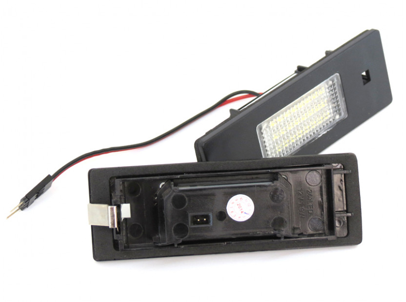 Комплект LED плафони за регистрационен номер за Alfa Romeo, BMW, Mini, Fiat ляв и десен 2