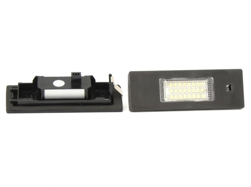 Комплект LED плафони за регистрационен номер за Alfa Romeo, BMW, Mini, Fiat ляв и десен 5