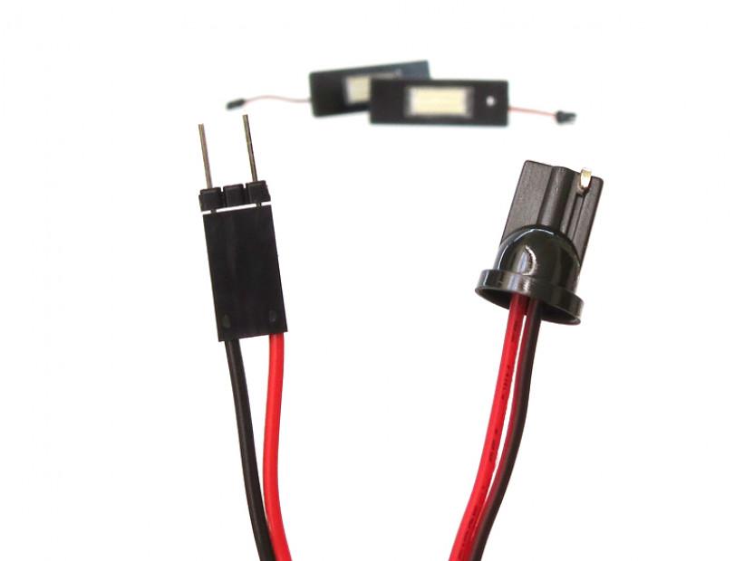 Комплект LED плафони за регистрационен номер за Alfa Romeo, BMW, Mini, Fiat ляв и десен 3