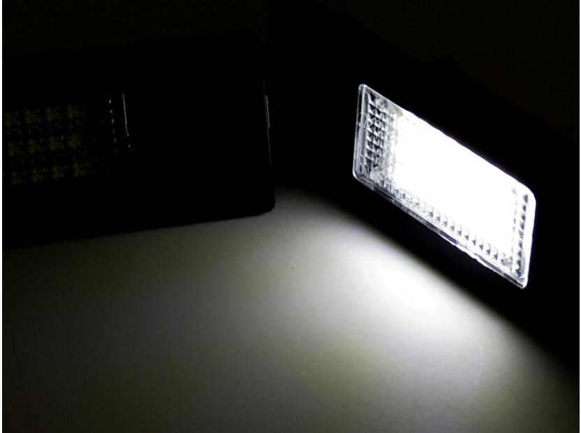 Комплект LED плафони за регистрационен номер за Alfa Romeo, BMW, Mini, Fiat ляв и десен 4
