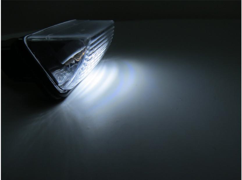 Комплект LED плафони за регистрационен номер за Peugeot 206,207,306,307,308,406,407,5008,Parthner, Citroen C3,C4,C5,Berlingo,Saxo,Xsara,Xsara Picasso, ляв и десен 5
