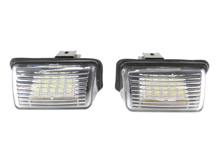 Комплект LED плафони за регистрационен номер за Peugeot 206,207,306,307,308,406,407,5008,Parthner, Citroen C3,C4,C5,Berlingo,Saxo,Xsara,Xsara Picasso, ляв и десен 3