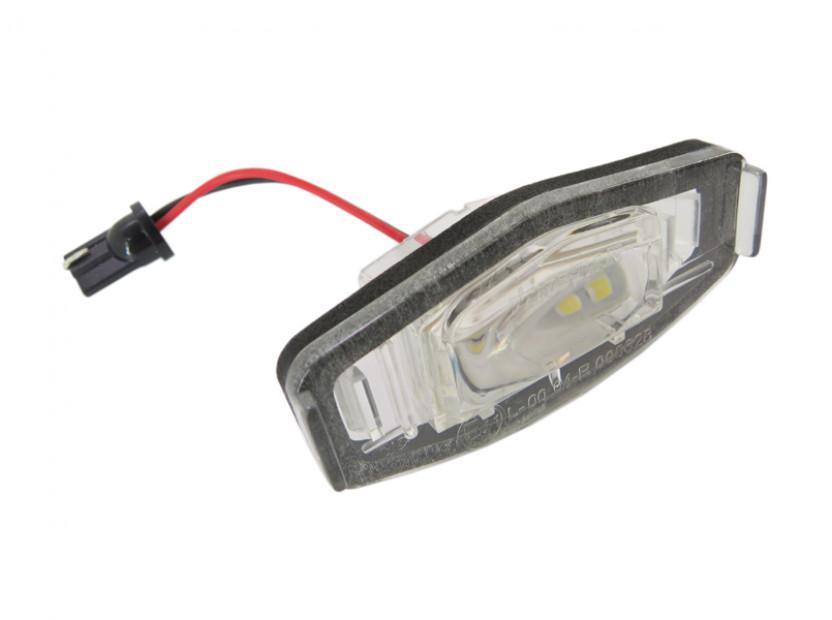 Комплект LED плафони за регистрационен номер за Honda Civic,Accord,Legend,City,Pilot, ляв и десен 3