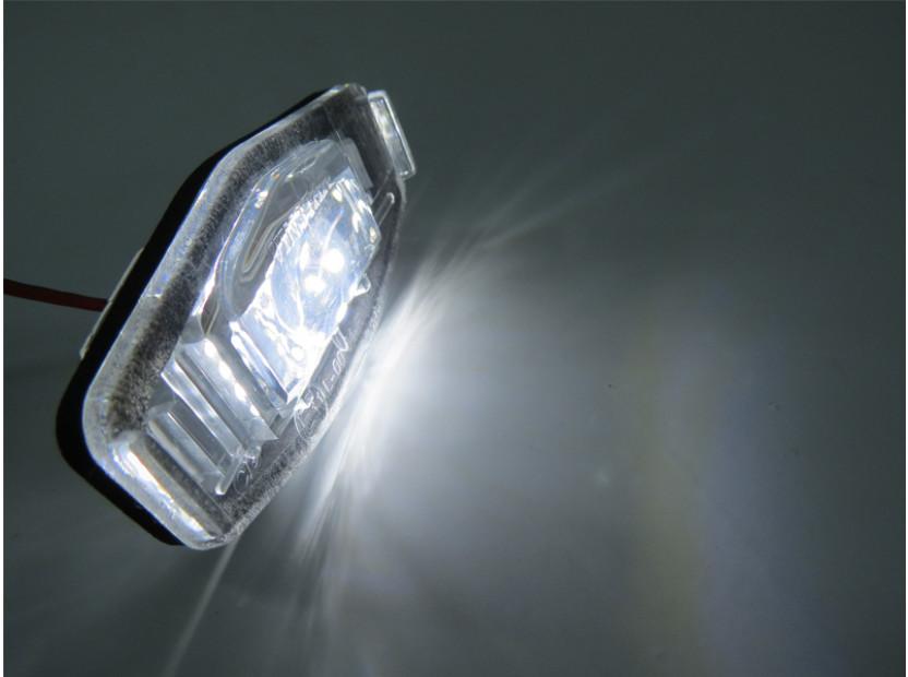 Комплект LED плафони за регистрационен номер за Honda Civic,Accord,Legend,City,Pilot, ляв и десен 4