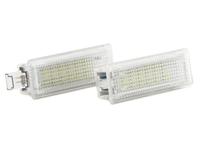 Комплект LED плафони за BMW E81,E82,E87,E88,F20,E90,E91,E92,E93,F30,E60,E61,F10,F11,E63,E64,F01,E84,E83,F25,E70,E71,E85,E86, MINI R50,R52,R53,R55,R57,R60, ляв и десен 2