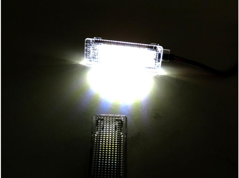 Комплект LED плафони за BMW E81,E82,E87,E88,F20,E90,E91,E92,E93,F30,E60,E61,F10,F11,E63,E64,F01,E84,E83,F25,E70,E71,E85,E86, MINI R50,R52,R53,R55,R57,R60, ляв и десен 6
