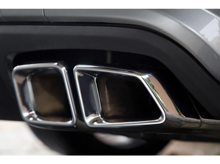 Накрайници тип E63 за Mercedes E класа W212 след 2009 година/CLS C218 след 2011 година/S класа W221 2005-2013 4