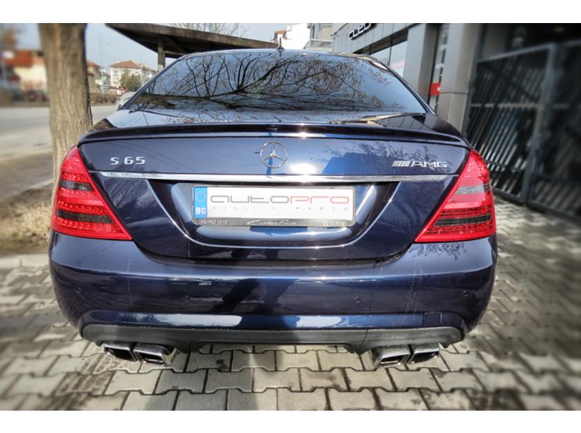 Накрайници тип E63 за Mercedes E класа W212 след 2009 година/CLS C218 след 2011 година/S класа W221 2005-2013 5
