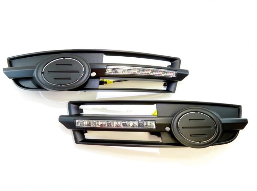 Специфични дневни светлини за Audi A6 2004-2008 за S Line броня 2