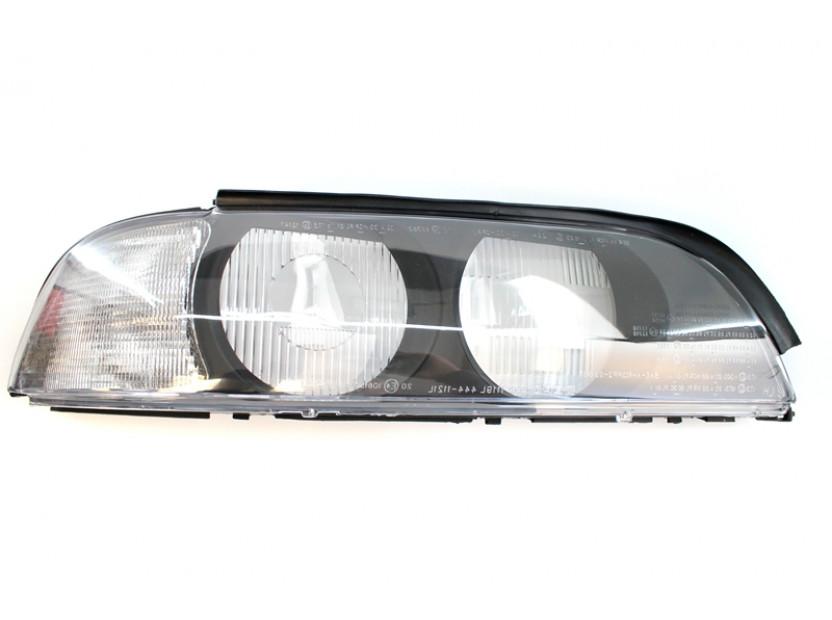 Дясно стъкло за фар за BMW серия 5 E39 1995-2000 с бял мигач