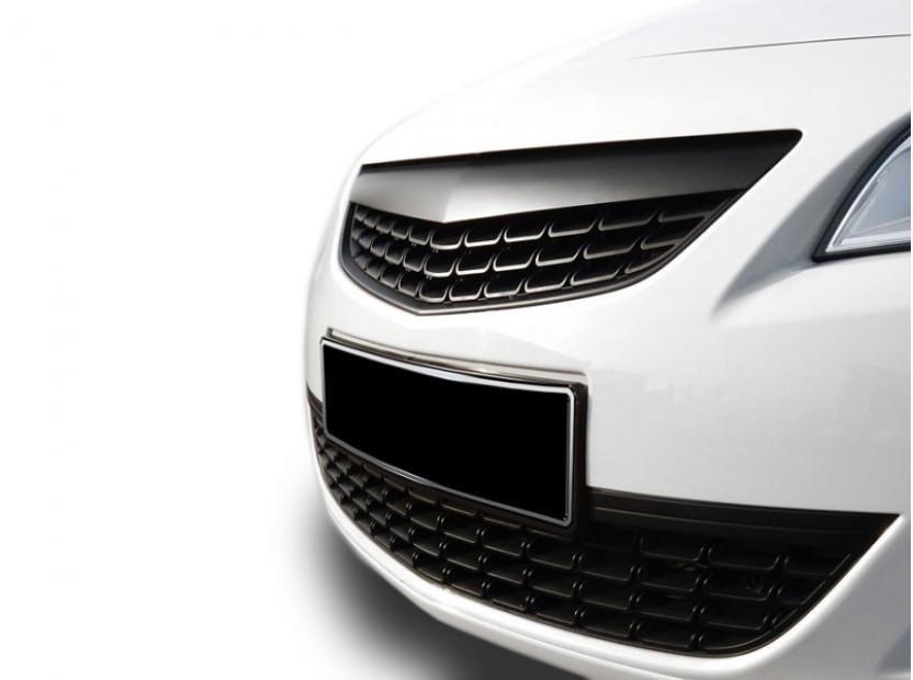 Черна решетка без емблема за Opel Astra J 2009-2012 10