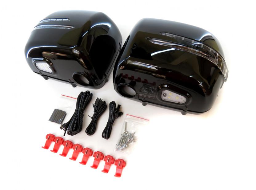 Капаци с LED мигачи за странични огледала за Mercedes G класа W463 1989 => 2