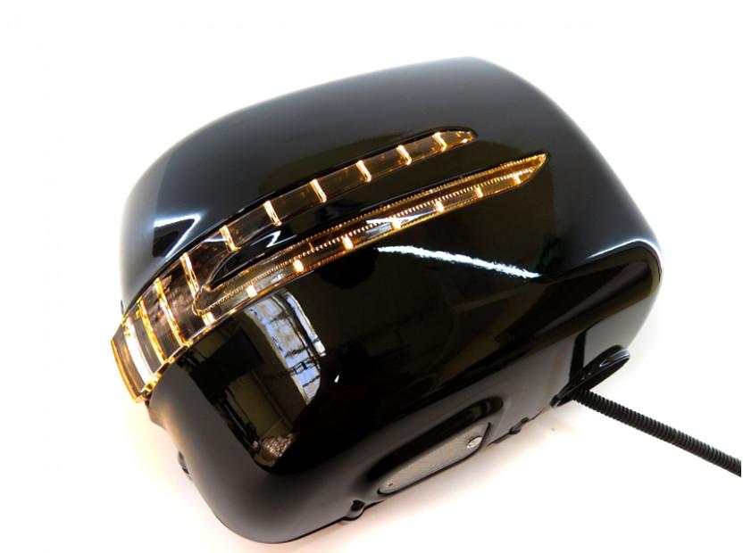 Капаци с LED мигачи за странични огледала за Mercedes G класа W463 1989 => 8
