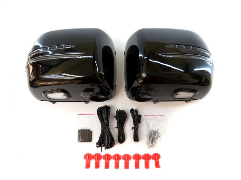 Капаци с LED мигачи за странични огледала за Mercedes G класа W463 1989 =>