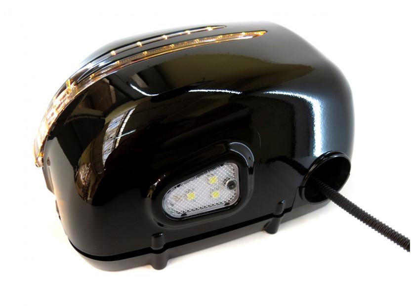 Капаци с LED мигачи за странични огледала за Mercedes G класа W463 1989 => 11