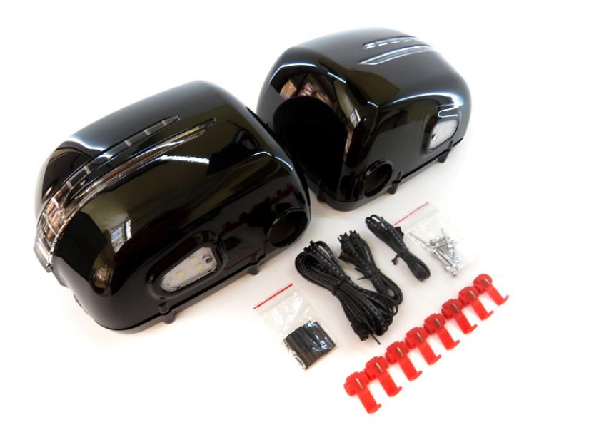 Капаци с LED мигачи за странични огледала за Mercedes G класа W463 1989 => 3