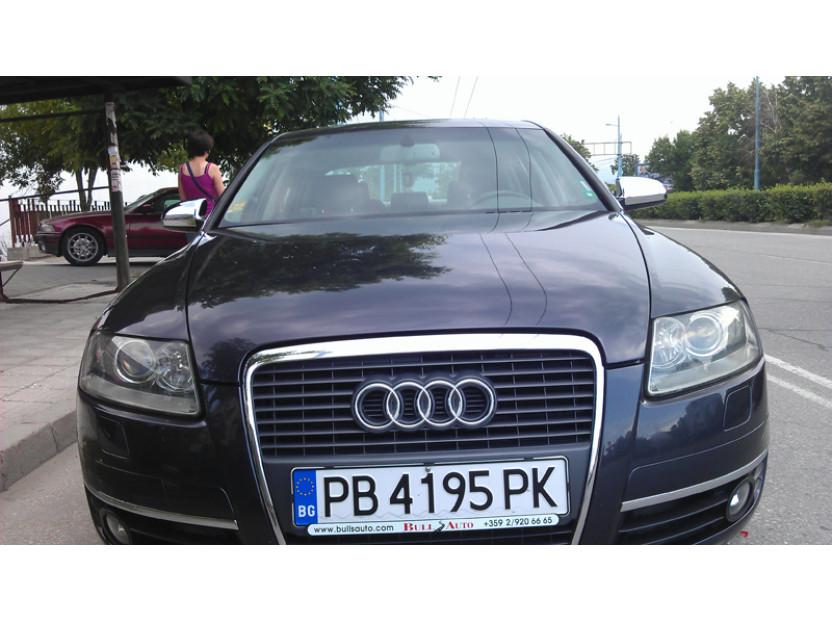 Хром капаци за огледала за Audi A3 2003-2008 (8P/8PA)/А4 2000-2007(B6)/А6 2004-2008 (4F) 4