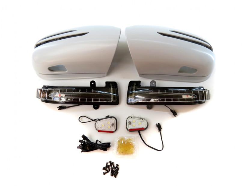 Капаци с LED мигачи за странични огледала за Mercedes S класа W220 2002-2005 9