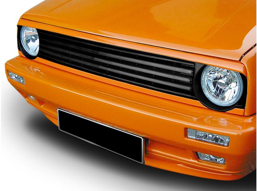 Черна решетка без емблема за Volkswagen Golf II 1983-1991 8