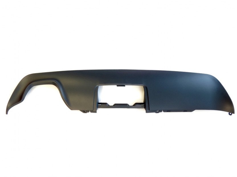 Дифузьор тип М за задна M technik броня за BMW серия 5 E60/E61 2003-2010 с единичен отвор/двоен накрайник -оо---/с отвор за теглич