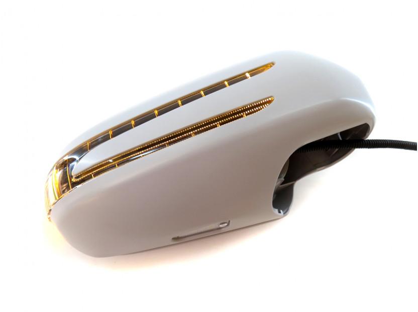 Капаци с LED мигачи за странични огледала за Mercedes SL R230 2002-2005 8