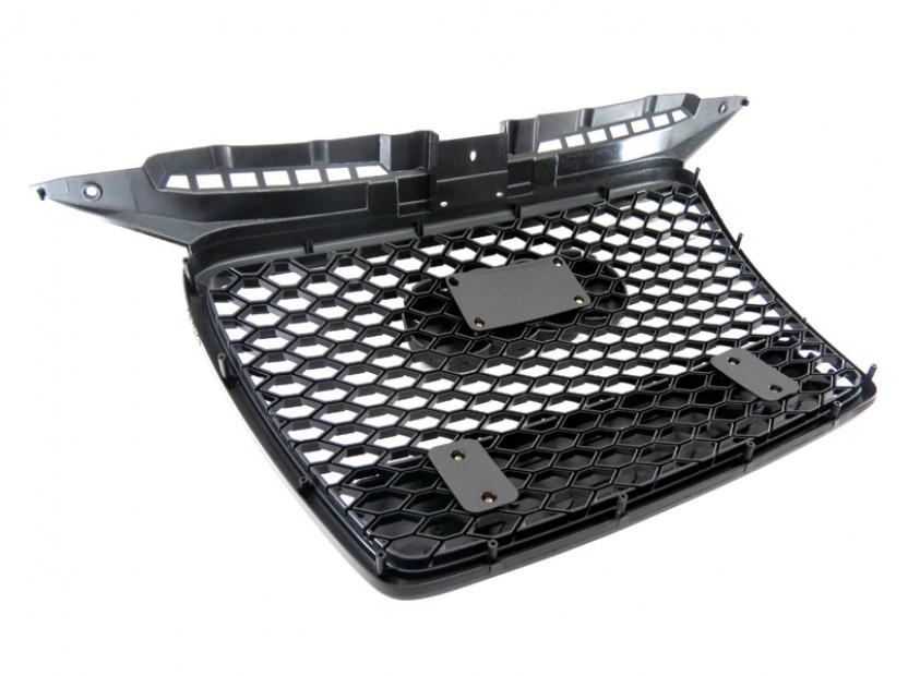 Черна решетка без емблема тип RS за Audi А3 2005-2008 9