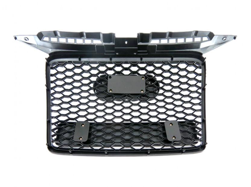 Черна решетка без емблема тип RS за Audi А3 2005-2008 7