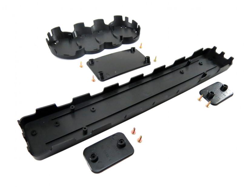 Черна решетка без емблема тип RS за Audi А3 2005-2008 12