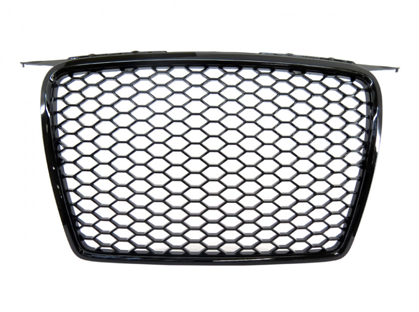 Черна решетка без емблема тип RS за Audi А3 2005-2008 2