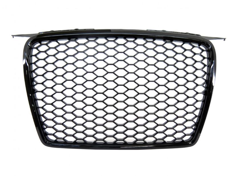 Черна решетка без емблема тип RS за Audi А3 хечбек, Sportback 2005-2008 2