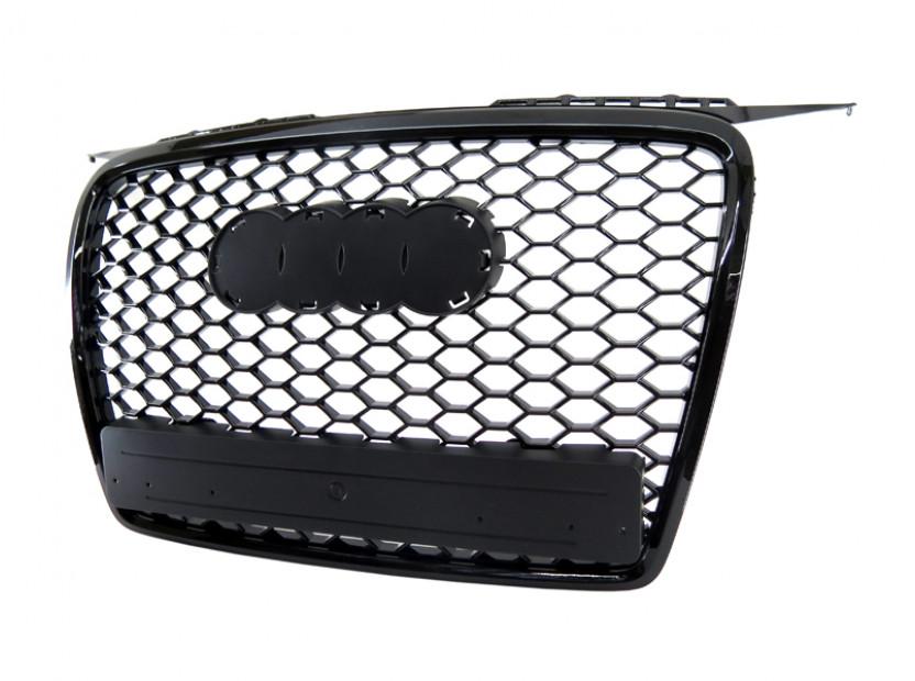 Черна решетка без емблема тип RS за Audi А3 2005-2008 3