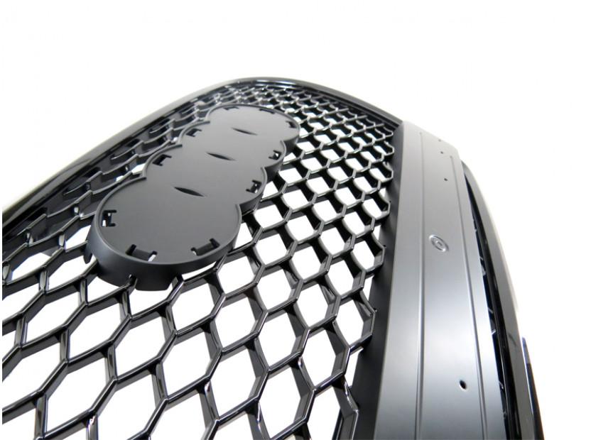 Черна решетка без емблема тип RS за Audi А3 2005-2008 6