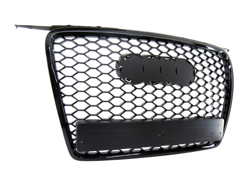 Черна решетка без емблема тип RS за Audi А3 2005-2008 4