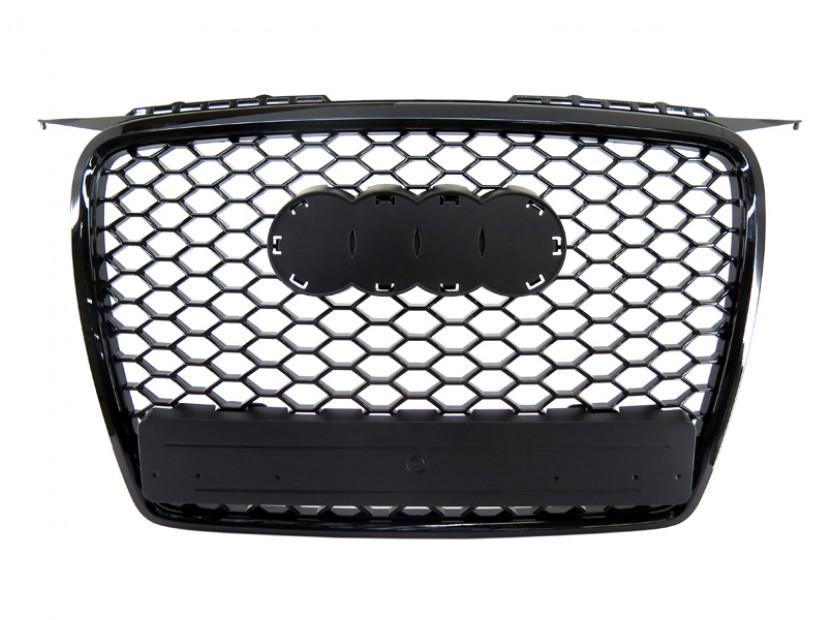 Черна решетка без емблема тип RS за Audi А3 2005-2008