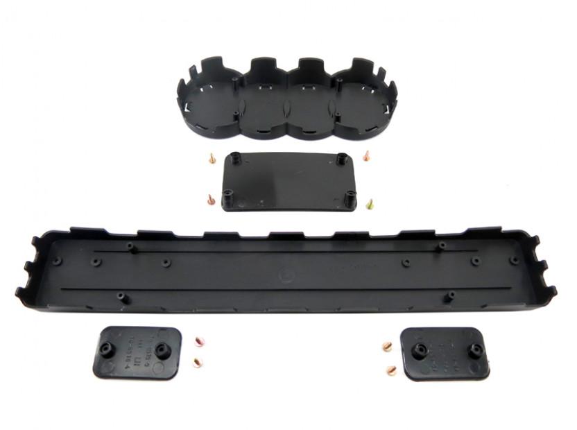 Черна решетка без емблема тип RS за Audi А3 2005-2008 10