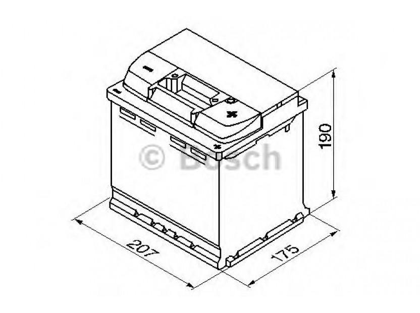 Акумулатор BOSCH Silver Plus S5 12V 54Ah 540 A с десен (+) 2