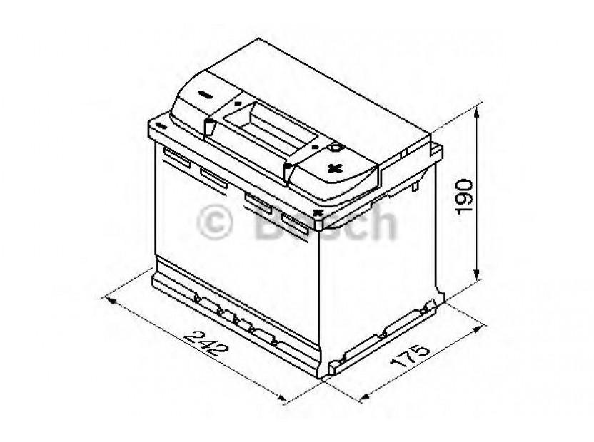 Акумулатор BOSCH Silver Plus S5 12V 63Ah 610 A с десен (+) 2