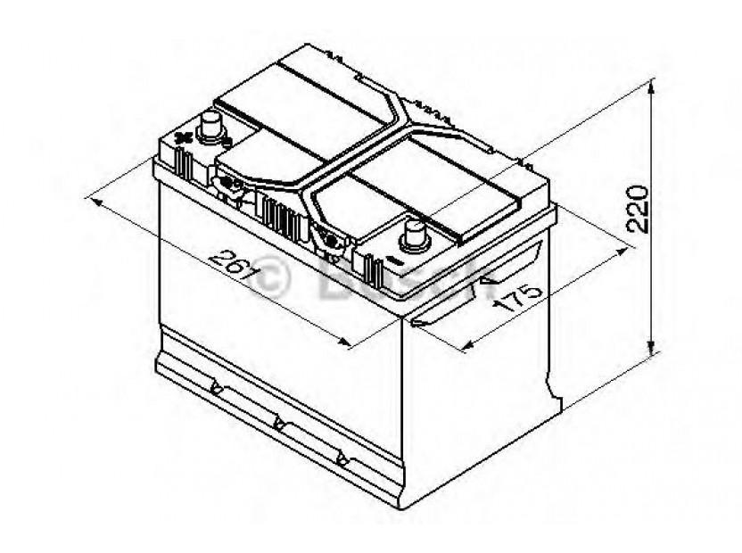 Акумулатор BOSCH Silver S4 12V 70Ah 630 A с ляв (+) АЗИЯ 2