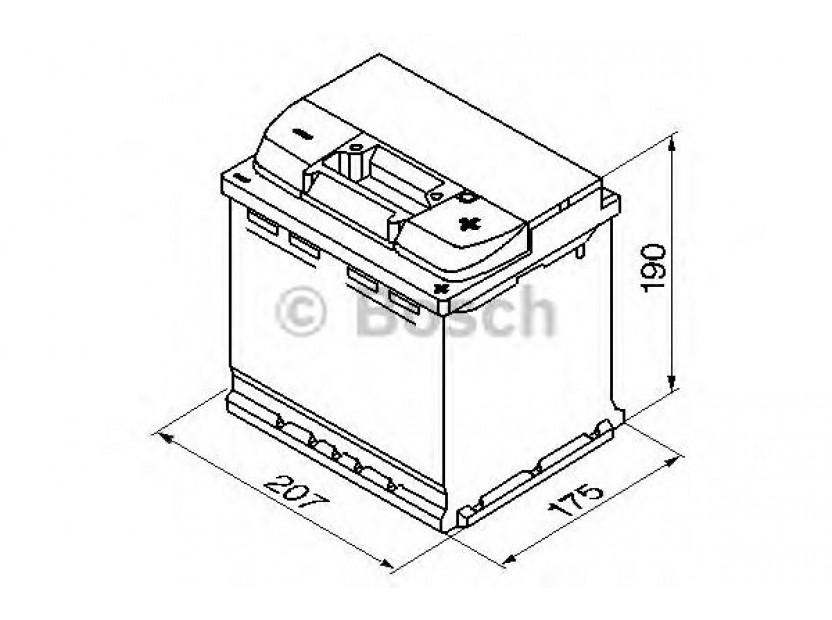 Акумулатор BOSCH Silver S4 12V 52Ah 470 A с десен (+) 2