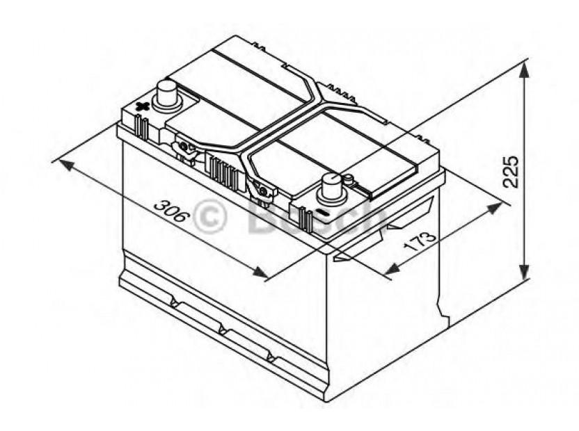 Акумулатор BOSCH Silver S4 12V 95Ah 830 A с ляв (+) АЗИЯ 2